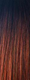 Crimson LR - Long Rooted Dark Brown with Bright Auburn Tips (+$)