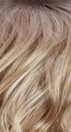 RH1488RT8 - Dark Brown Roots with Golden Blond and Ash Blond Blend