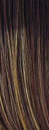 SS8 / 25 - Golden Walnut - Chestnut Brown blended with Strawberry Blond with Darkest Brown Roots (+$)