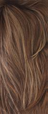 Almond Rocka-R - Dark Brown Base with Golden Blond and Light Auburn Highlights